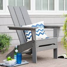 Living Accents Folding Adirondack Chair White by Have To Have It Exclusive Polywood Modern Folding Adirondack