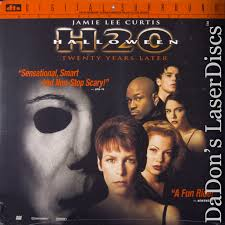 Who Played Michael Myers In Halloween H20 by Halloween H20 Laserdisc Rare Laserdiscs Dts Digital Suround Sound