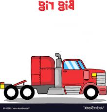 100 Rig Truck Big Of Vector SOIDERGI
