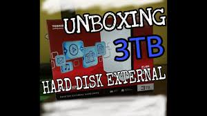 toshiba canvio desk 3tb unboxing external hard drive review