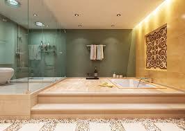 relax minimalistisch badezimmer toronto
