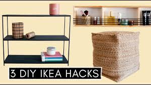 3 diy ikea hacks pouf designer regal ordnung im badezimmer