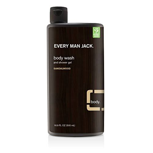 Every Man Jack Body Wash - Sandalwood 16.9oz
