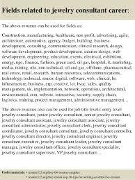 16 Fields Related To Jewelry