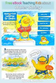 Free Book App Teaching Toddler Preschooler And Kindergarten Kids Water Safety With Simple