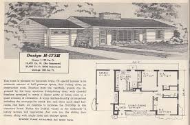 The Retro Home Plans by Vintage House Plans 173h Antique Alter Ego