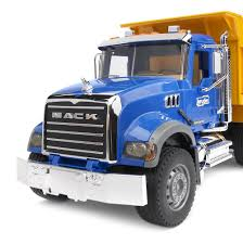 100 Bruder Trucks Toys Mack Granite Dump Truck W Functioning Bed In 116 Scale
