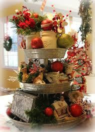 Sams Club Christmas Tree Storage by Priscillas Christmas Galvanized Tray Centerpiece