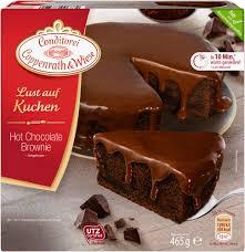 lust auf kuchen chocolate brownie 465 grams conditorei