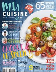 magazine de cuisine le magazine my cuisine succède officiellement à zest