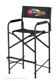 Aluminum Directors Chair Bar Height by E Z Up Directors Chair