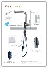 Mop Sink Faucet Specs by Luxter Pull Out Ozone Faucet With Ozone Machine Manufacturing