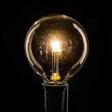 box of 25 led g50 clear c7 base light bulbs hometown evolution