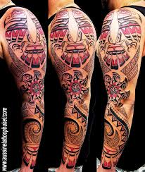 Tribal Tattoo Artwork By Aussine Phuket