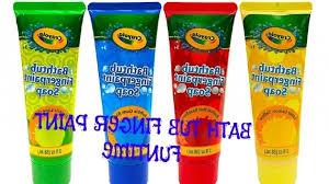 crayola bathtub fingerpaint soap bathtub designs