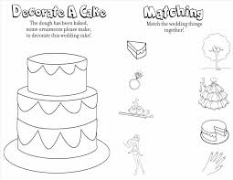 Free Wedding Coloring Pages Printable For Weddings And