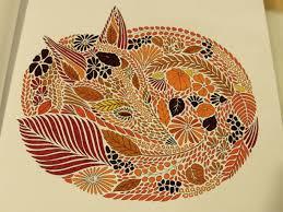 Animal Kingdom Coloring Book Birds Fantastic Mrs Fox From Millie Marotta S
