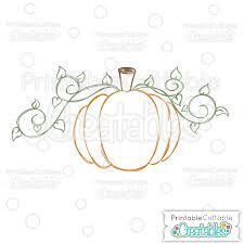 Pumpkin Free SVG Sketch File