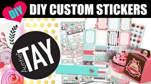 100 Custom Stickers For Trucks DIY With The Cricut Explore Air YouTube