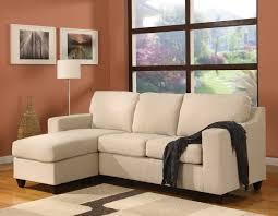 Apartment Furniture Browneather Sectional Apartment Size Sofa