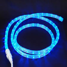 custom blue led rope light kit novelty lights