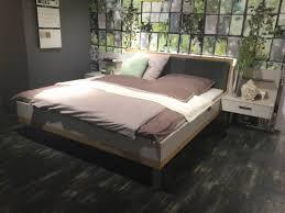 möbel loddenkemper schlafzimmer leni inkl bettanlage kleiderschrank kommode kristallgrau balkeneiche xxxlutz