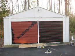 Painting A Garage Door Is Easy And Affordable Here s How We