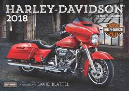 Harley Davidson A3 Calendar 2018