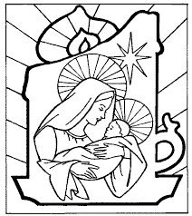Religious Christmas Coloring Sheets