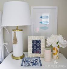 Jill Rosenwald Bedding by Sita Montgomery Interiors My Home Guest Bedroom Reveal Sita