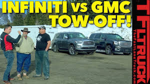 Which Tows Better? 2018 Infiniti QX80 Vs GMC Yukon Denali Vs World's ... Your Yukon Truck Is No Match For Brendan Witt Warrior D Hanner Chevrolet Gmc Trucks A Baird Dealer And 2002 Denali 60l V8 Subway Truck Parts Inc Auto Couple Injured After Crash In Southern Alberta News Latest Concept Cool Cars 1995 4wheel Sclassic Car Suv Sales Rockland Used Vehicles Sale New 2018 From Your Lincoln Me Dealership Clay Melvins Repair St Augustine Fl Having Problems 2 Door Tahoeblazeryukon If You Got One Show It Off Chevy Tahoe My Favourite Lets Change That Roastmycar