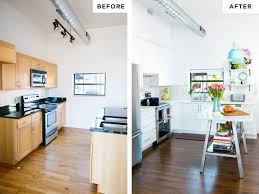 Townhouse Remodel Kitchen Before After