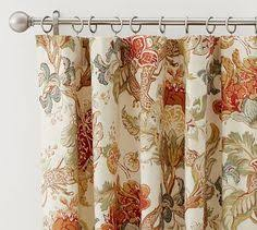 Pottery Barn Outdoor Curtains by Pottery Barn Vanessa Floral Drapes For The Home Pinterest