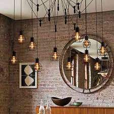 design pendelleuchte im landhausstil 12 flammig im wohnzimmer