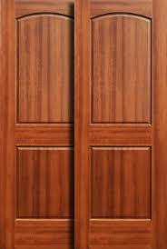 Bypass Doors Sliding Door Pocket For Wooden Closet Decorations 7