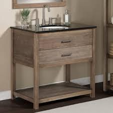 Bathroom Sink Vanities Overstock by Elements 36 Inch Granite Top Single Sink Bathroom Vanity Overstock