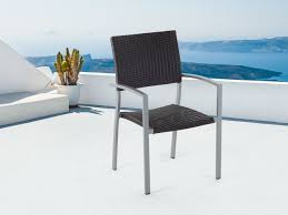 Outdoor Faux Wicker Chairs Cult Living Ladbroke Outdoor Ding Armchair Black Polywood Tek Memoir Chair Rjid Midcentury Modern Steel Patio Set Summer Classics Skye Side White Leather Chairs Contemporary Script 5piece Metal With Slatted Faux Wood And Stackable Modway On Sale Eei2259slvblk Shore Alinum Only Only 16930 At Fniture Warehouse Polywood Bayline Satin Allweather Plasticsling Arm In Poolside Shell Shell Collection Fueradentro Design Wicker