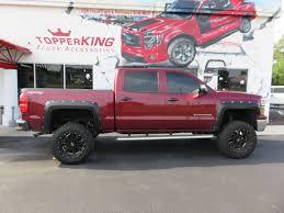 100 Chevy Truck Accessories 2014 Silverado LEER 350M Fender Flares TopperKING