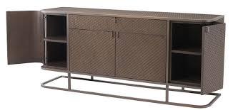 casa padrino luxus kommode mit 4 türen und schublade braun bronze 170 x 46 x h 75 cm luxus qualität
