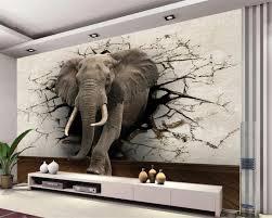 beibehang 3d tapete elefanten wandbild tv wand hintergrund wand wohnzimmer schlafzimmer tv hintergrund wandbild tapete für wände 3 d