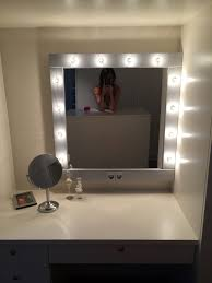 led vanity mirror lights homestylediary wall makeup with design