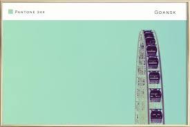 Gdansk Pantone 344 As Premium Poster By In Full Color