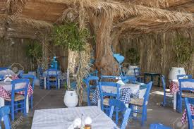 Typical Greek Taverna With White And Blue Tables And Chairs Stock ... Greek Style Blue Table And Chairs Kos Dodecanese Islands Shabby Chic Kitchen Table Chairs Blue Ding Http Outdoor Restaurant With And Yellow Crete Stock Photos 24x48 Activity Set Yuycx00132recttblueegg Shop The Pagosa Springs Patio Collection On Lowescom Tables Amusing Ding Set 7 Piece 4 Kids Playset Intraspace Little Tikes Bright N Bold Free Shipping Balcony High Cushions Fniture Rst Brands Sol 3piece Bistro Setopbs3solbl The