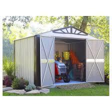 Arrow Newburgh 8x6 Storage Shed by Designer Series Steel Storage Shed 10 U0027 X 8 Arrow Storage
