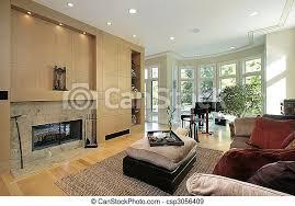 wohnzimmer mit marmor kamin wohnzimmer im luxushaus mit