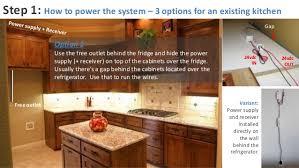 running lights kitchen cabinets light pine kitchen cabinets
