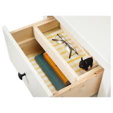 nightstand splendid hemnes chest of drawers white stain