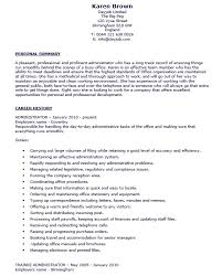 19 Free Office Administrator Resume Samples