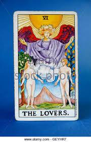 Universal Waite Tarot Deck Instructions by The Lovers Tarot Card Stock Photos U0026 The Lovers Tarot Card Stock