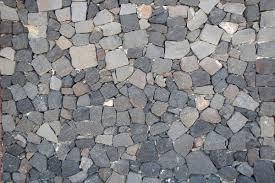 Medieval Black Stones Floor Texture